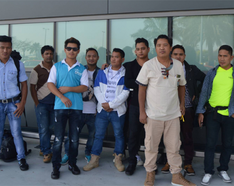 13 out 22 Nepali migrant workers stranded in UAE return home