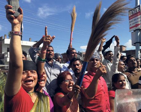 UML denounces attacks on its Janakpur rally