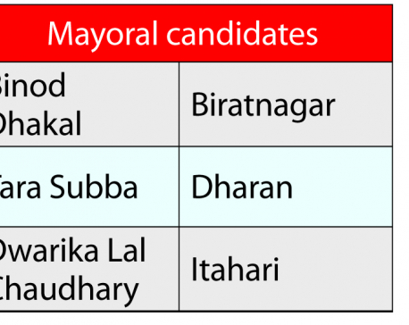 UML finalizes candidates in Province-1 metropolis