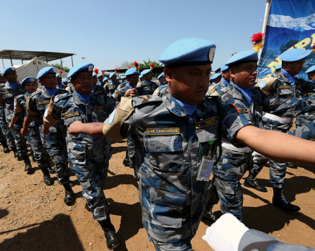 Nepali Police Unit awarded UN Medal for service in South Sudan
