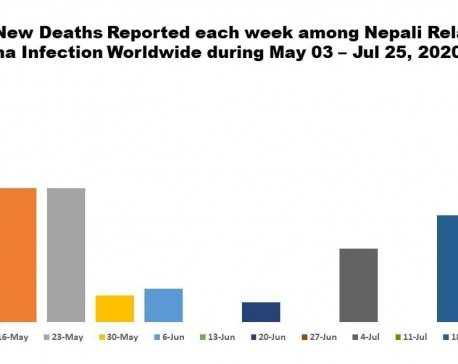 One more Nepali dies of COVID-19 in UK, Nepalis' death tally abroad reaches  161
