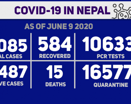 With 323 new cases, Nepal's COVID-19 tally reaches 4085