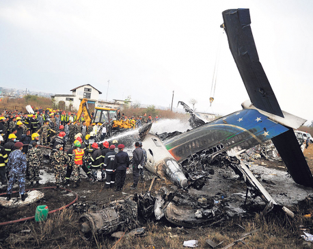 'The plane exploded like a bomb before my eyes'