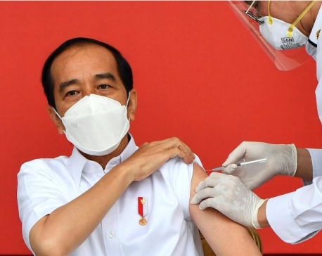 Indonesia launches one of world's biggest COVID-19 vaccination drives