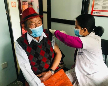 Gosainkunda becomes first rural municipality in Bagmati to fully vaccinate locals against COVID-19