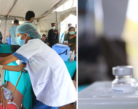 IN PICS: Elderly receiving their second dose of Covishield vaccine