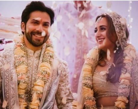 Varun Dhawan marries Natasha Dalal