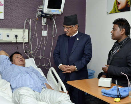 Veep Pun admitted to Norvic Hospital