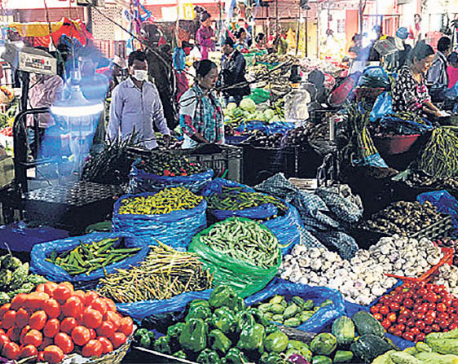 Veg prices moderate on improved supplies