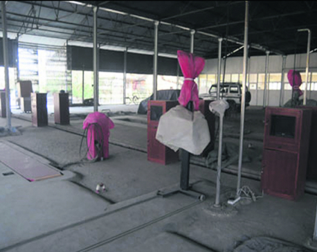 Three years on, Vehicle Fitness Center still remains unused