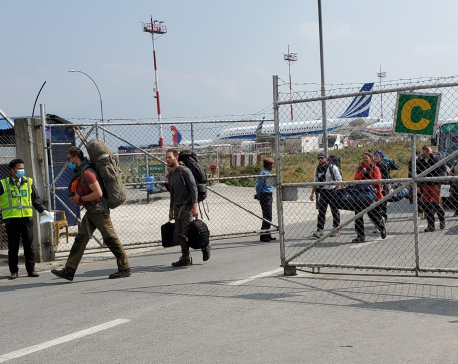 900 German, French and EU nationals flown back home from Nepal
