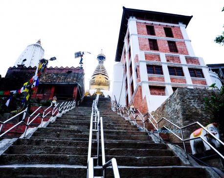 IN PICS: Swayambhunath premises during lockdown