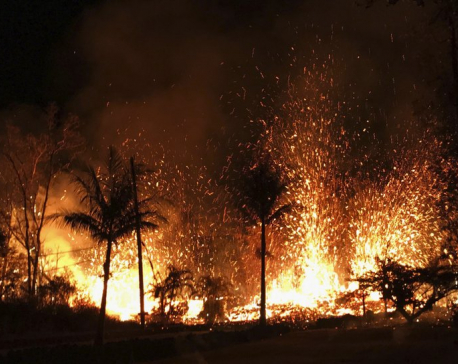 Hawaii volcano destroys dozens of homes, forces evacuations