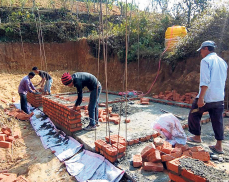 All houses look similar in Sindhuli after reconstruction