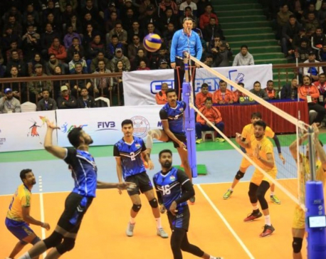 India bags gold medal in male volleyball match in 13th SAG
