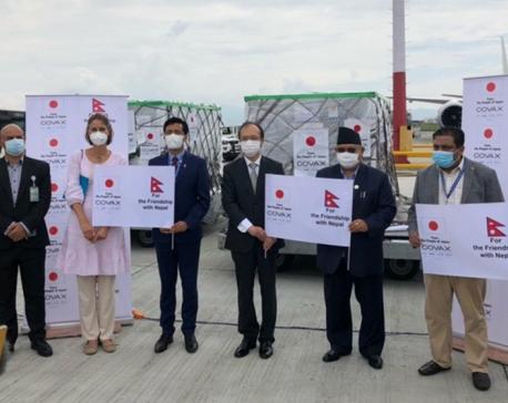 First shipment of Japanese-made AstraZeneca COVID-19 vaccines arrives in Kathmandu