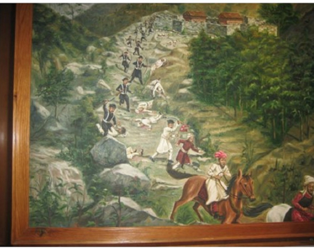 The battle of Makawanpur
