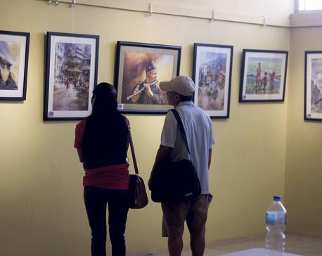 Watercolor trending among artists
