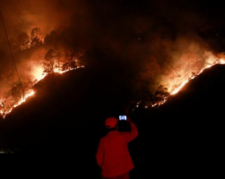 Nepal battles worst forest fires in years as air quality drops