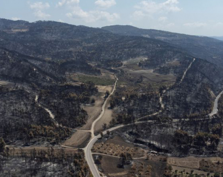 Tears and anger as Greek island residents face wildfire aftermath