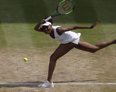 Venus Williams gains 9th Wimbledon final, awaits Muguruza