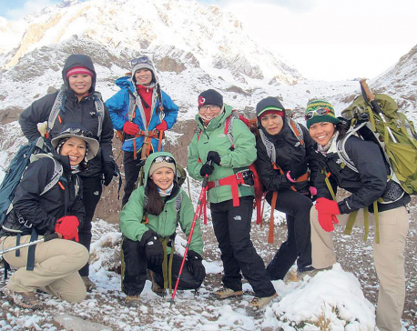 More Women climbing Nepali mountains