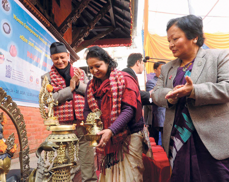 Women entrepreneurs handicraft fair kicks off in Ktm