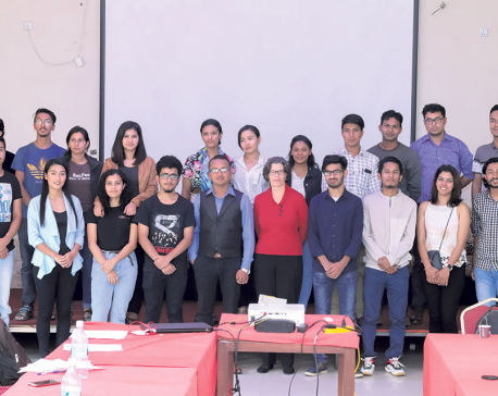 Workshop on use of social media