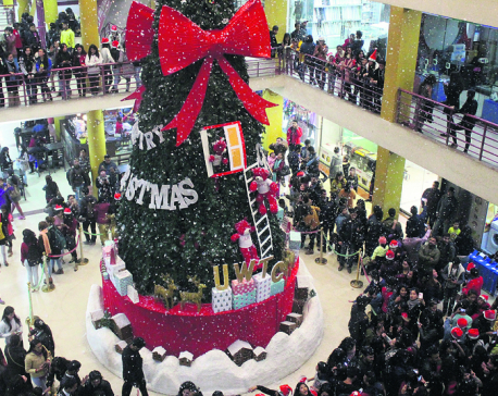 Christmas celebrated in Nepal
