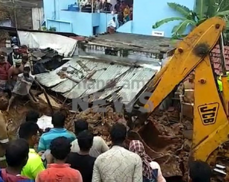 Wall collapse from heavy rain kills 17 in India's Tamil Nadu