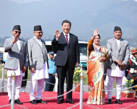 Concluding two-day state visit to Nepal, Chinese President Xi returns home (with photos)