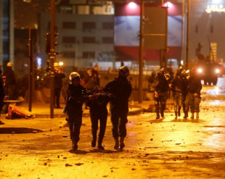 More than 300 people wounded in Beirut protest clashes - rescuers