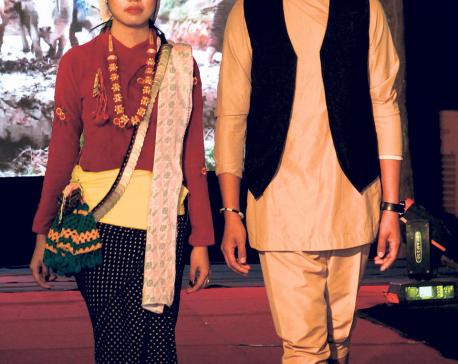 Yalambar Park turns into fashion ground