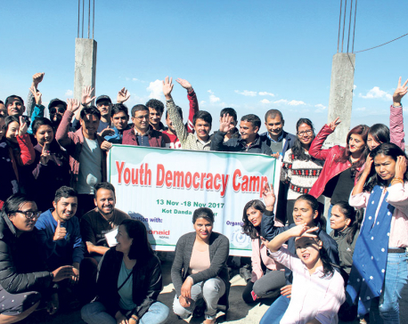 Youth Democracy Camp concludes