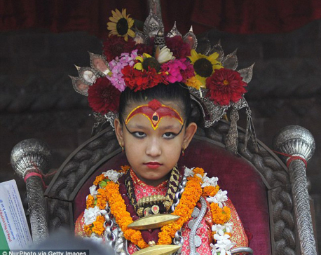 7-year-old girl declared as Royal Kumari of Kathmandu