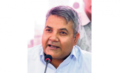 Minister Baskota himself acted as agent in procurement