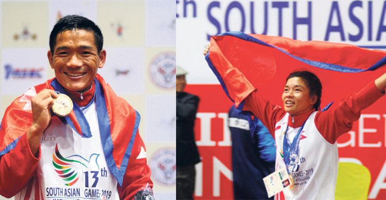 4 Golds for Nepal on Day 9, Nepali boxers end SAG jinx