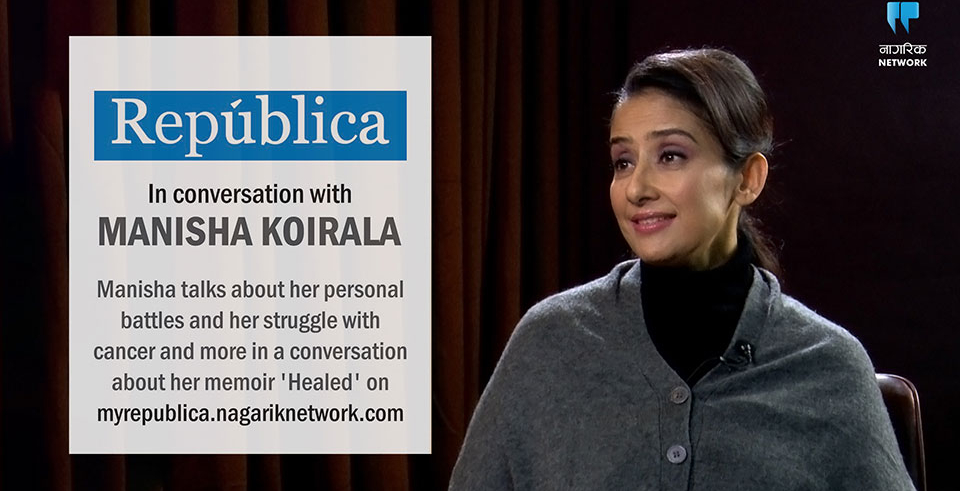 Manisha is happy and thriving, and says writing Healed was cathartic(with video)