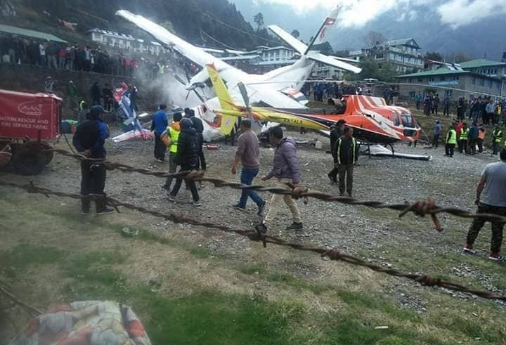 Three killed in Summit Air plane accident in Lukla, Nepal Police confirms (with video)