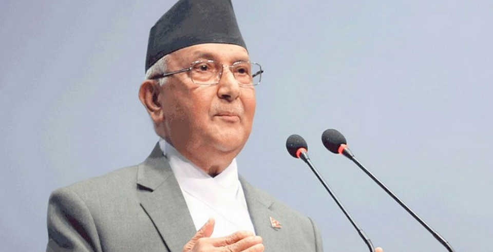 PM Oli urges European Union to lift ban on Nepali airline companies (with video)