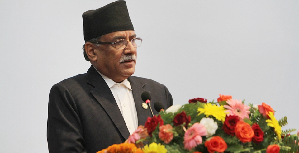 Country may witness regime change if govt fails to live up to people's expectations, says Dahal (with video)