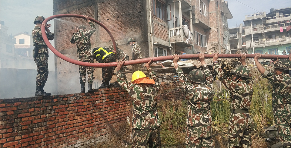 Fire destroys furniture factory, guts property worth Rs 7 m (with video)