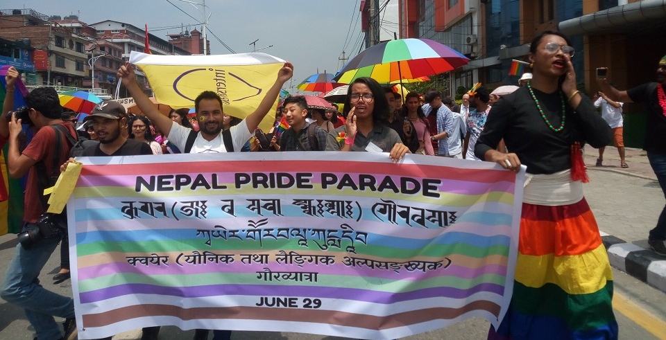 Nepal hosts first- ever pride parade marking pride month