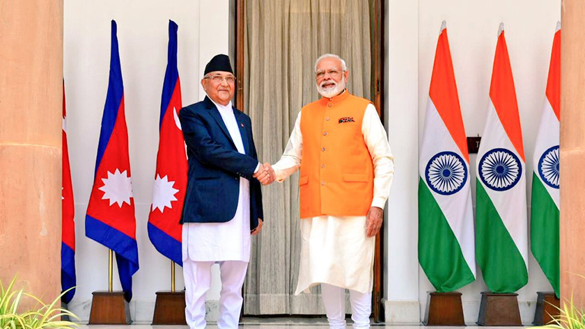 PM Oli holds bilateral meeting with Modi in New Delhi (with video)