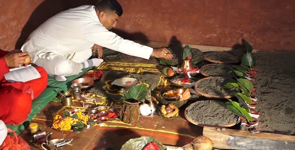 Ghatasthapana being observed today(with video)