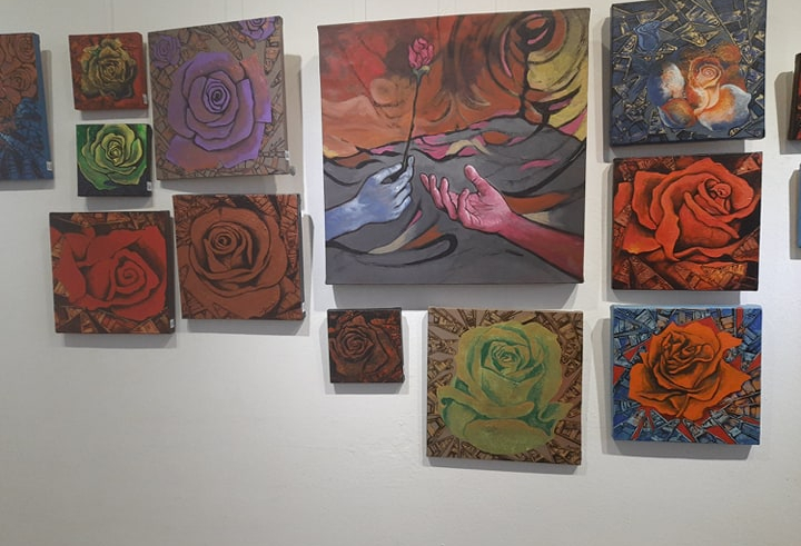 Spreading joy of love through paintings (With Video)