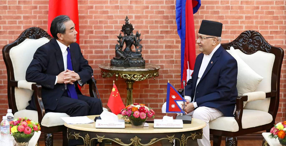 Nepal-China sign three bilateral deals(with video)