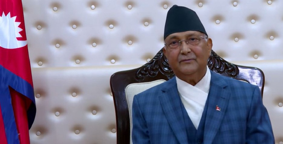 VIDEO: Prime Minister Oli addresses the nation