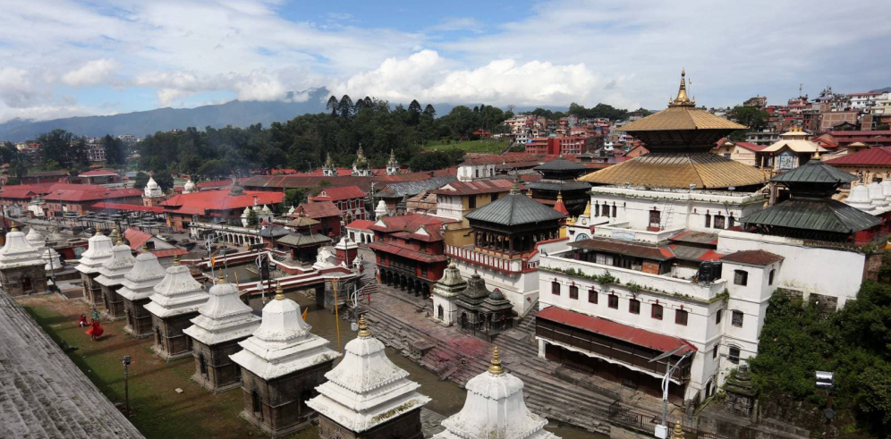 Pashupatinath temple wears a deserted look even during Teej festival (with photos and video)
