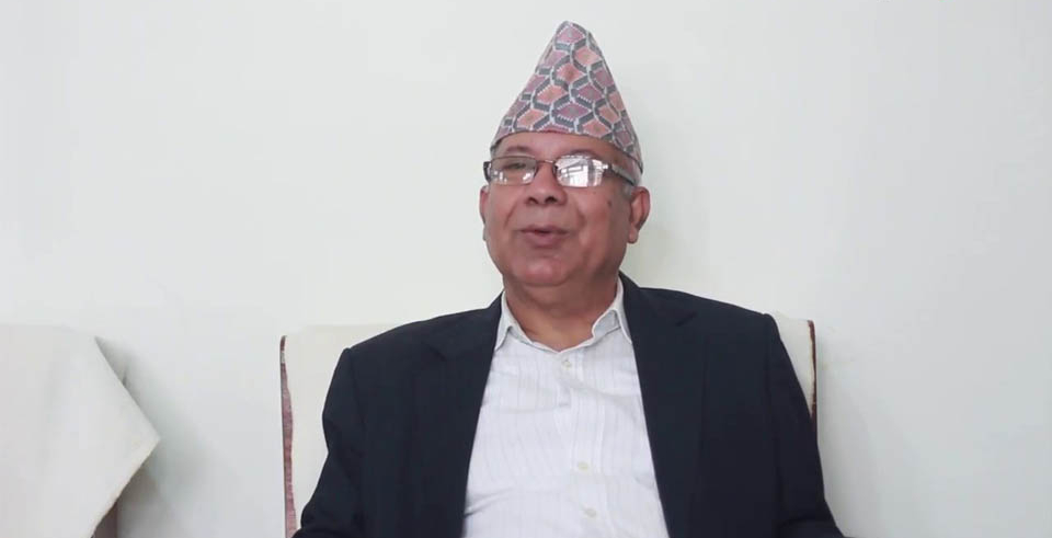 PM Oli responsible for present crisis within party, says NCP senior leader Madhav Nepal (with video)